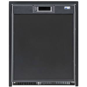 Universal Voltage Marine Refrigerator, Black, 1.7 cu.ft.