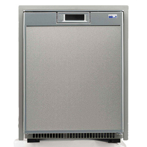Universal Voltage Marine Refrigerator, Stainless Steel, 1.7cu.ft.