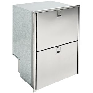 Drawer 160 Light Refrigerator Only, AC/DC, 5.5 Cu. Ft., Stainless Steel, 4-Sided Flush Mount Flange