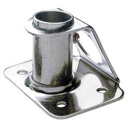 Stainless Steel Stanchion Bases