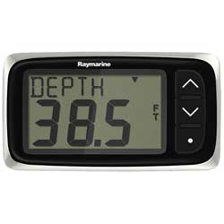 i40 Depth Instrument with Transom-Mount Transducer