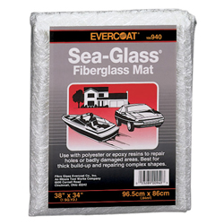 Sea-Glass Fiberglass Mat