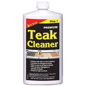 Premium Teak Cleaner Step 1, Quart