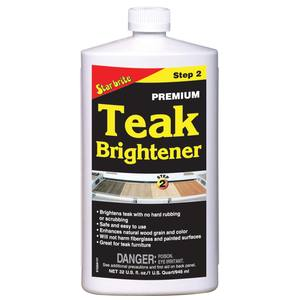 Premium Teak Brightener Step 2, Quart