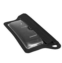 TPU Guide Waterproof Case for Smartphones, Black