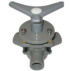 "Diverter Valve, 1/2"" Dia, 1/2"" Hose, Flush Mount"