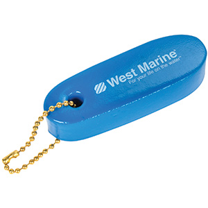 Floating Key Chain, Blue