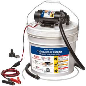 Professional 12V Oil Changer Bucket