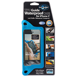 TPU Guide Waterproof iPhone 5 Case, Blue