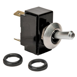 Toggle Switch, On-Off-On, DPDT Universal