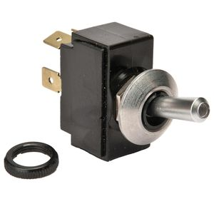 Toggle Switch, MOM (On)-Off, SPST