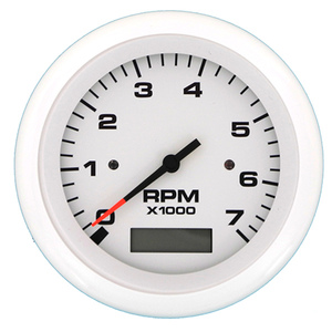SIERRA Lido Series Tachometer with System Check, 7000 rpm