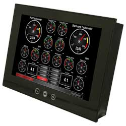 TSM1330C Vessel Monitoring and Control Touchscreen