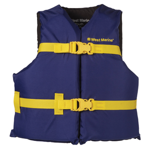 West Marine Runabout Life Jacket, Youth 50-90lb.