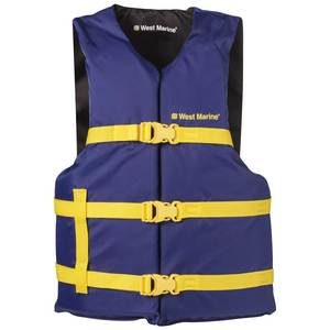 "Runabout Life Jacket, Adult, 30""-52"" Chest"