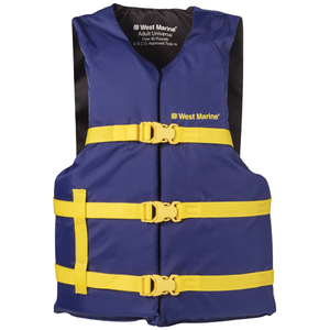 "West Marine Runabout Life Jacket, Adult, 30""-52"" Chest"