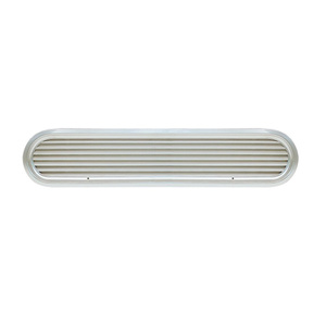 "19 5/16"" Louvered Aluminum Air Vent for 50hp Engines"