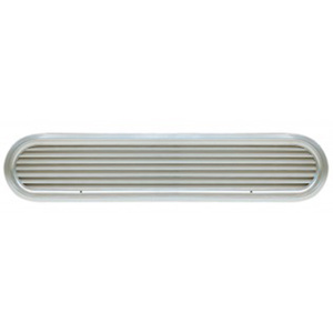 "26"" Louvered Aluminum Air Vent for 80hp Engines"