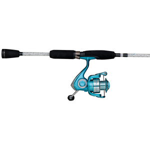 "6'6"" Lady Trion Spinning Combo Size 30 Reel, Medium Rod Power"