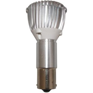 "LED Replacement Bulb: 1383 ""Elongated"" Single Contact Magnum LED, 12/24V"