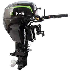 9.9hp Propane Powered Outboard Engine, Short Shaft, Internal Electric Start