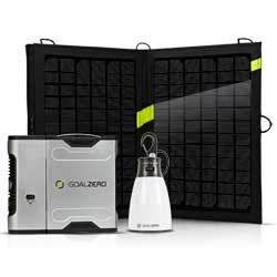 Sherpa 50 Solar Kit with Inverter