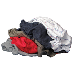 Recycled Colored Cloth Rags