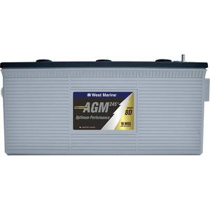 Group 8D Dual-Purpose AGM Battery, 245 Amp Hours