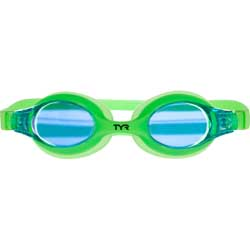 Kid's Mirrored Swimples Goggles, Lime