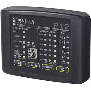 P12 Battery Charger LED Remote