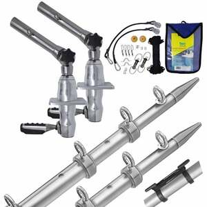 GS280 Outrigger Kit with Silver/Silver Poles
