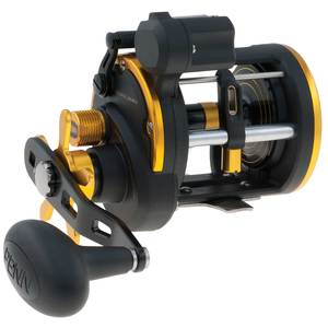 Squall 20 LWLC Level Wind Conventional Reel with Line Counter