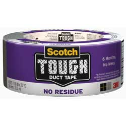 "No-Res Duct Tape, 1.88"" x 20 Yd"