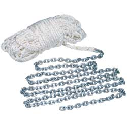 Rope/Chain Anchor Rode Packages for Windlasses