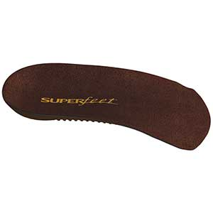 Men's DELUX™ Dress-Fit 3/4 Insoles