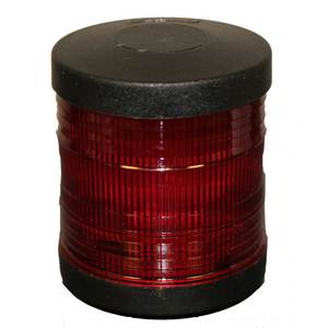 Series 25 Deck Mount Red All-Round Navigation Light
