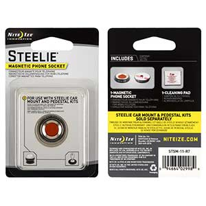 Steelie Small Magnetic Phone Socket Kit