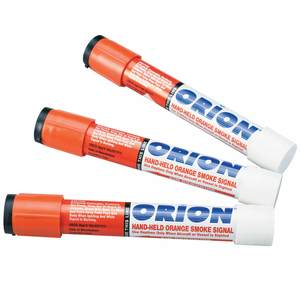 Handheld Orange Smoke Flares, 3-Pack