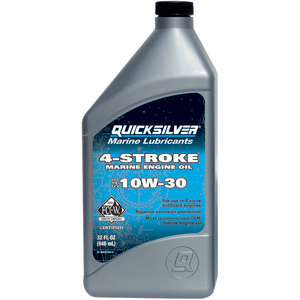 Premium SAE 10W-30 4-Stroke Marine Engine Oil, Quart