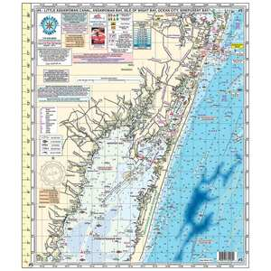 #5 DE to MD Back Water and Bay Chart