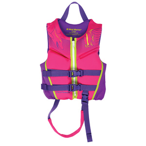 Deluxe Kids' Rapid Dry Life Jacket, Child 30-50lb., Pink