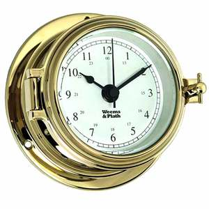 Endurance II 105 Quartz Clock, Brass