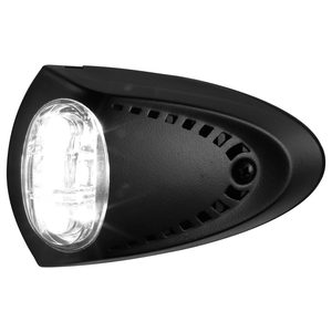 Surface-Mount LED Docking Lights, Black Aluminum Case