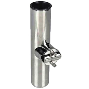 Stainless Steel Heavy-Duty Clamp-On Rod Holder