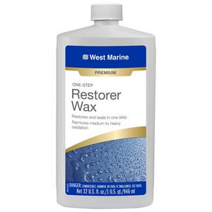 One-Step Restorer Wax, Quart
