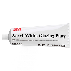 Acryl-White Glazing Putty