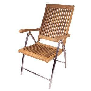 Windrift Teak Folding Deck Chair