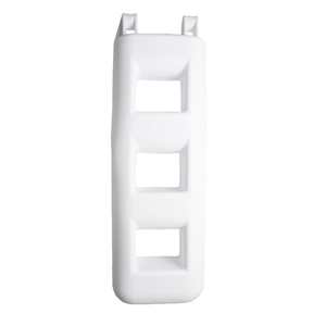 3-Step Ladder Fender, White