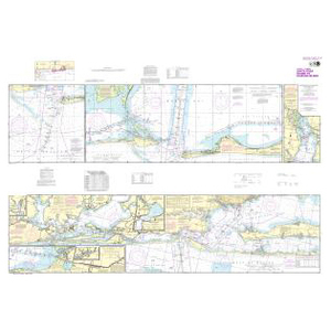 NOAA Nautical Chart 11378 Intracoastal Waterway Santa Rosa Sound to Dauphin Island