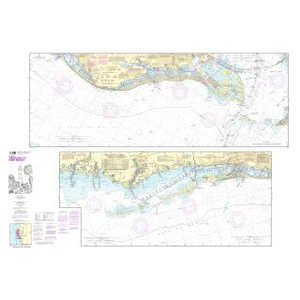 NOAA Nautical Chart 11411 Intracoastal Waterway Tampa Bay to Port Richey